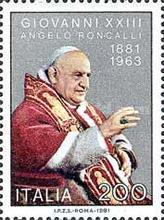 [The 100th Anniversary of the Birth of Pope John XXIII, Typ AWG]