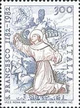 [The 800th Anniversary of the Birth of St. Francis of Assisi, type AWK]