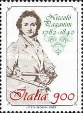 [The 200th Anniversary of the Birth of Paganini, type AWL]
