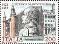 [The 500th Anniversary of the Death of Montefeltro, type AXG]