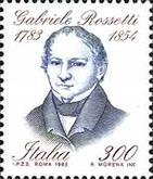 [The 200th Anniversary of the Birth of Gabriele Rosetti, type AXX]