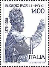 [The 25th Anniversary of the Death of Pope Pius XII, type AYA]
