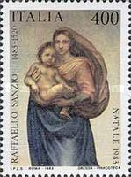 [Christmas Stamps - Raphael Paintings, type AZG]