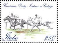 [The 100th Anniversary of the Italian Derby, type BAG]