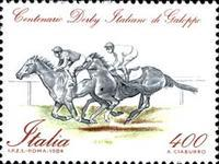 [The 100th Anniversary of the Italian Derby, type BAH]