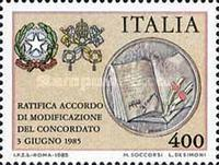 [Ratification of New Concordat with the Vatican, type BCJ]