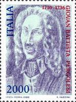 [The 250th Anniversary of the Death of G. B. Pergolesi, Typ BDB]