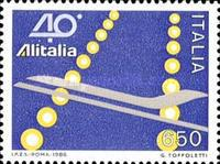 [The 40th Anniversary of Alitalia, Typ BEC]