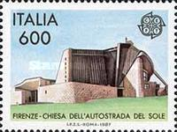 [EUROPA Stamps - Modern Architecture, type BEW]