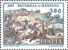 [The 120th Anniversary of the Battle of Mentana, type BFO]