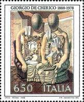 [The Archaeologists - Painting by Giorgio de Chirico, type BGA]