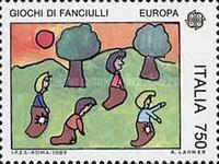 [EUROPA Stamps - Children's Games, type BHO]