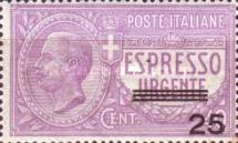 [Express Stamp - Overprint, type BI]