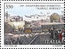 [The 150th Anniversary of the Naples-Portici Railways, Typ BID]
