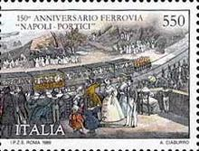 [The 150th Anniversary of the Naples-Portici Railways, type BIE]