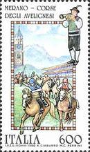 [Folk Celebration - Horse Race, Merano, type BKB]