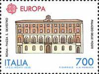 [EUROPA Stamps - Post Offices, type BKG]