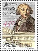[The 250th Anniversary of the Birth of Giovanni Paisiello, type BKI]