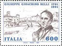 [The 200th Anniversary of the Birth of G. G. Belli, type BLI]