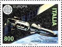[EUROPA Stamps - European Aerospace, type BLL]