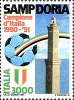 [Italian Football Champions - Sampdoria, type BLO]