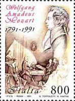 [The 200th Anniversary of the Death of Mozart, type BLW]