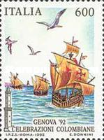 [The 500th Anniversary of the Discovery of America - GENOVA '92, type BNV]