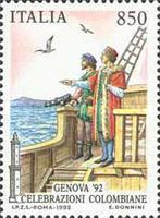 [The 500th Anniversary of the Discovery of America - GENOVA '92, type BNX]