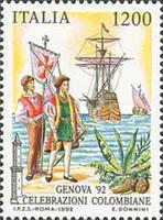 [The 500th Anniversary of the Discovery of America - GENOVA '92, type BNY]