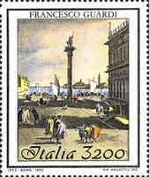 [The 200th Anniversary of the Death of Francesco Guardi, Typ BPB]