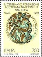 [The 400th Anniversary of the National Academy St. Luke, type BPG]