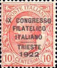 [Philatelist Congress in Trieste, Typ BQ]