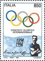 [The 100th Anniversary of the International Olympic Committee, type BRP]