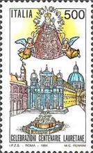 [The 500th Anniversary of the Basilica of Loreto, type BRR]