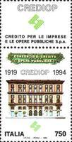 [The 75th Anniversary of CREDIOP, type BRZ]
