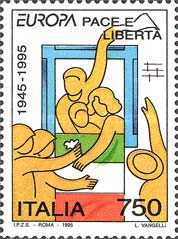 [EUROPA Stamps - Peace and Freedom, Typ BTQ]