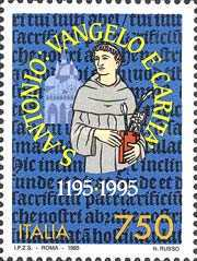 [The 800th Anniversary of the Birth of Anthony of Padua, Typ BUB]