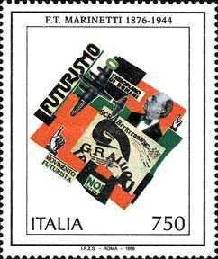 [The 120th Anniversary of the Birth of Filippo Tommaso Marinetti, Science Fiction Writer, Typ BUW]