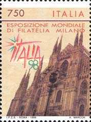 [International Philatelic Exhibition - ITALIA '98, Typ BVF]