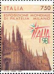 [International Philatelic Exhibition - ITALIA '98, Typ BVG]