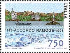 [The 20th Anniversary of RAMOGE - Agreement Between France, Italy and Monaco, Typ BVO]