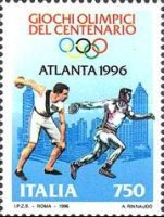 [The 100th Anniversary of Modern Olympic Games, Typ BWA]