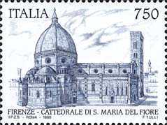 [The 700th Anniversary of Duomo Cathedral of Santa Maria del Fiore, Typ BWK]