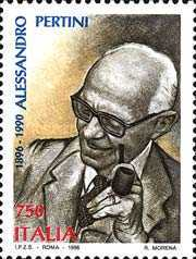 [The 100th Anniversary of the Birth of Alessandro Pertini, Typ BWQ]