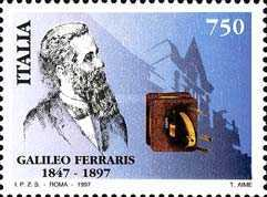 [The 100th Anniversary of the Death of Galileo Ferraris, type BXJ]
