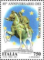 [The 40th Anniversary of the Treatries of Rome, type BXP]