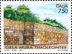 [Timeoleonte Archaeological Walls of Gela, type BXV]
