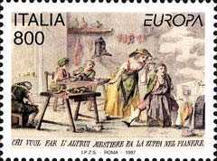 [EUROPA Stamps - Tales and Legends, type BXY]