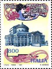 [The 100th Anniversary of the Massimo Theatre of Palermo, type BYA]