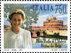 [Paola Ruffo of Calabria, Queen of Belgium, type BYG]
